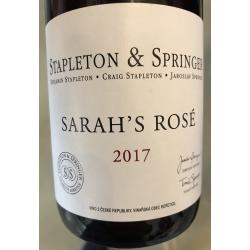 Sarah's rosé  2017